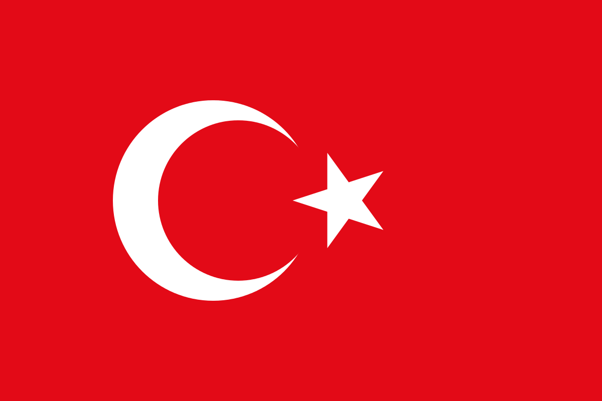 Bandiera Turchia