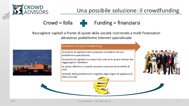 crowd advisors finanza alternativa per startup e pmi